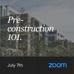 Pre-Construction Seminar July 7th