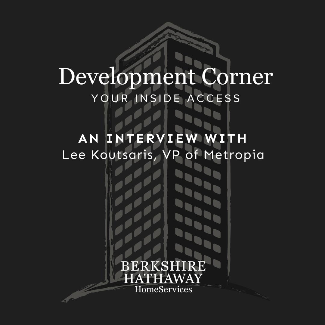 Development Corner – Metropia